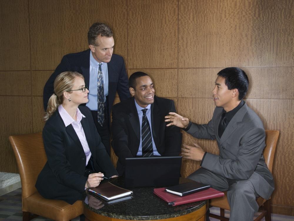 Businesspeople Meeting